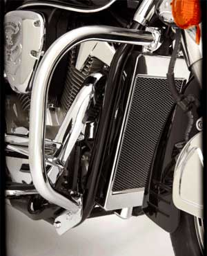 Big Bike Parts - Chrome Highway Bars - VTX 1300 R/S
