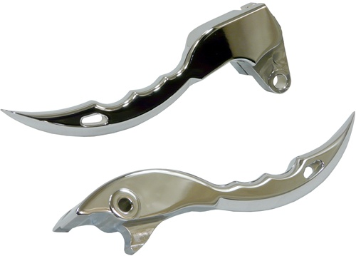 Yana Shiki M109 Chrome Knife Style Brake & Clutch Levers