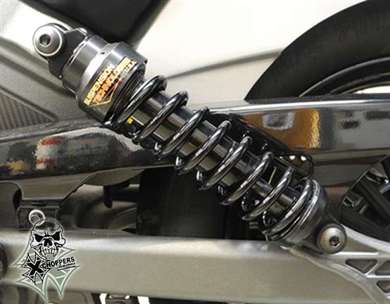 Aeromach Shock Absorbers for Indian Scout