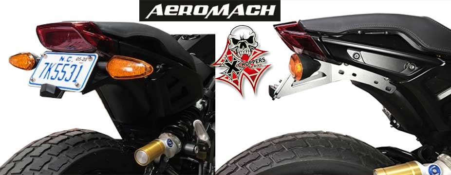 Aeromach FTR1200 High Mount License Plate