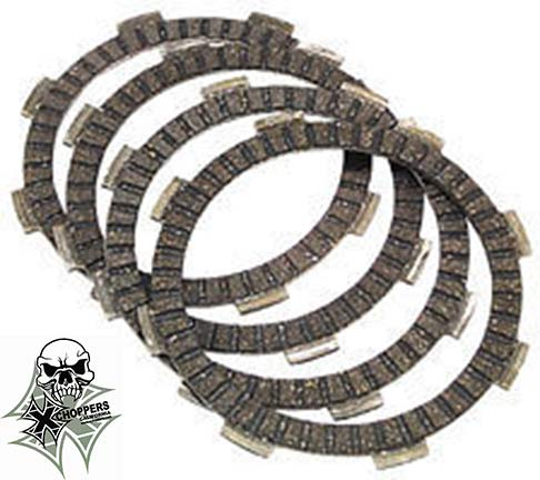 EBC Clutch Friction Plate Kit - VTX 1300 & VTX 1800