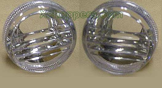 Motolume Clear Turn Signal Lenses, with bulbs - Suzuki Cruisers