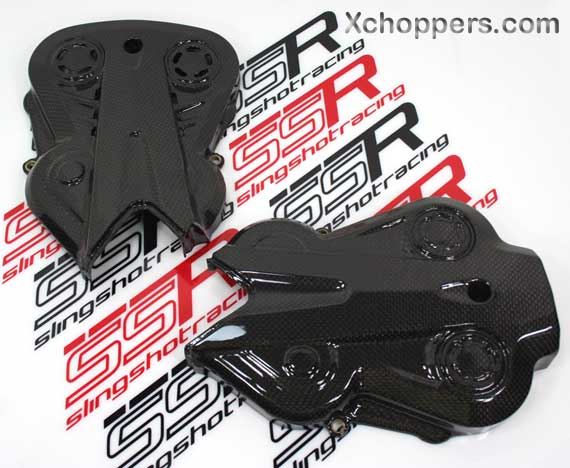 Ducati Diavel Autoclave Carbon Fiber Cam Belt Engine Covers