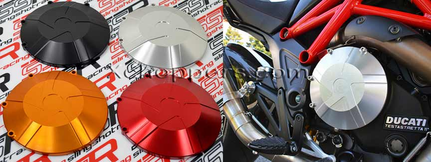 Ducati Diavel Anodized Billet Clutch Case Cover