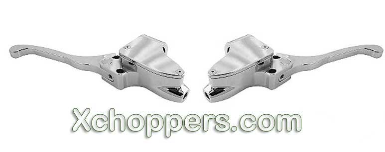 Supreme Legends Chrome Controls - Hyd. Brake / Hyd. Clutch