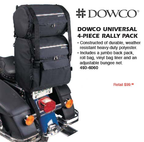 DOWCO UNIVERSAL 4-PIECE RALLY PACK