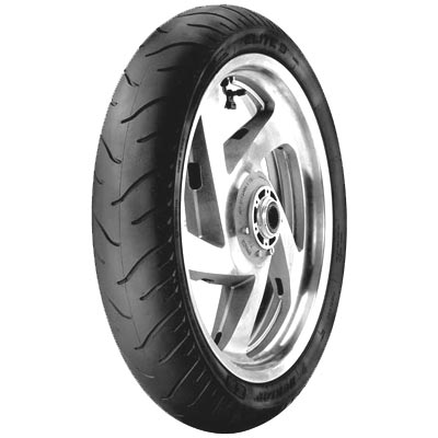 Dunlop Elite 3 Bias Ply MM90HB-19, Front - VTX 1300 C