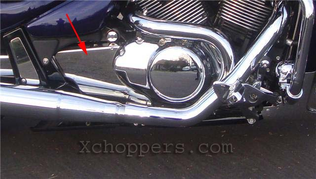 Gregg's Stainless - Engine Cover - Suzuki M109