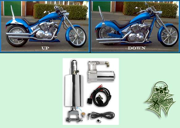 Platinum Air Suspension Simple Air Suspension for Honda Fury