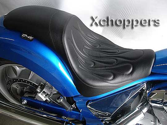 <B>C&C Motorcycle Seats - FastBack for Honda Fury</B>