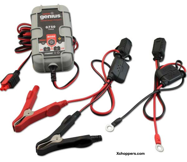 Noco Genius G750 6V/12V 750mA (.75A) Battery Charger