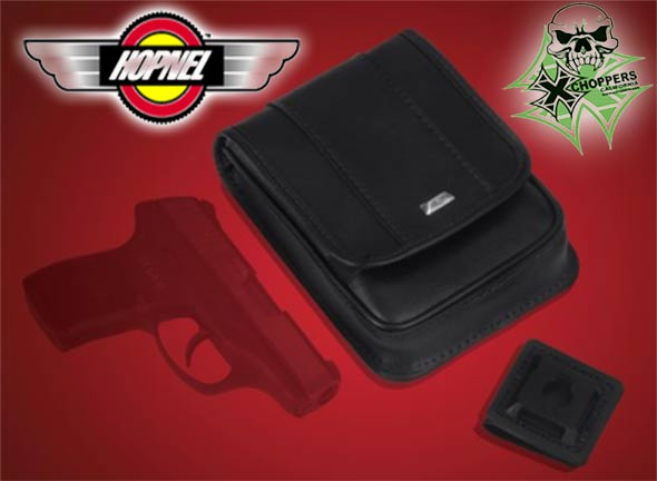 "Big Bike Parts EZ CARRY CONCEALED POUCH 6.5"" x 4.5"" x 1.13"""