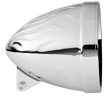 "Adjure 7"" Flame Headlight Bucket - Ventura Hwy"