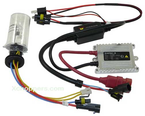 "HID KIT -1 LIGHT, 1 BALLAST - | 6000k H4 LIGHT BULB ""WHITE"""