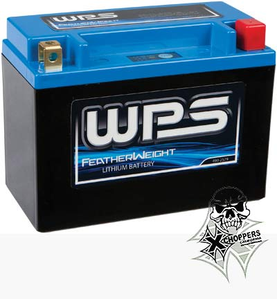 WPS Featherweight Lithium Battery Fits - Ducati Diavel, Triumphs