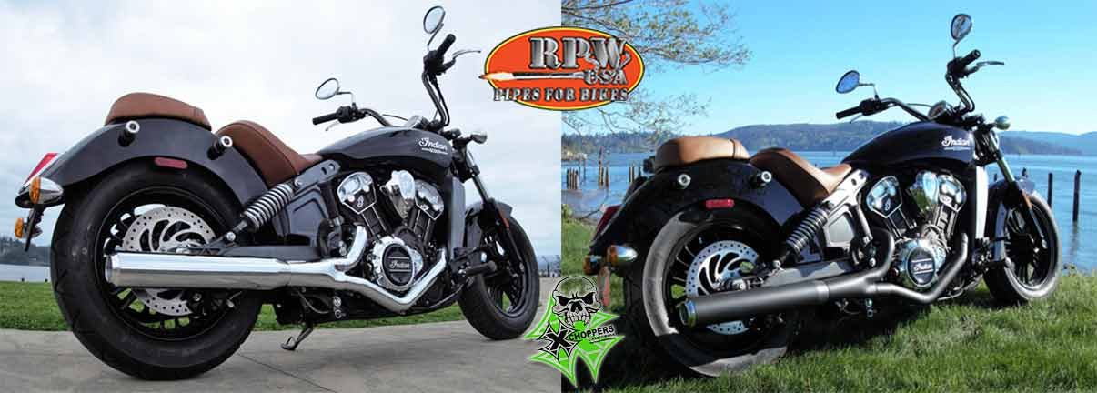 RPW INDIAN SCOUT & SCOUT 60 - AXE IN-623