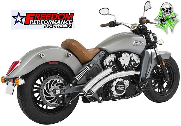 Freedom Perf. Chrome Radical Radius High Exh -Scout / Scout 60