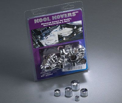 Kool Kovers Chrome Nut & Bolt Cover Kit - VTX 1300/1800 / M109R