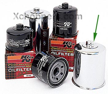 K&N - Performance Chrome Oil Filter - Suzuki M109 (all)