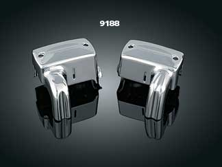 Kuryakyn Deluxe Master Cylinder Cover Set - VTX 1800 (all)