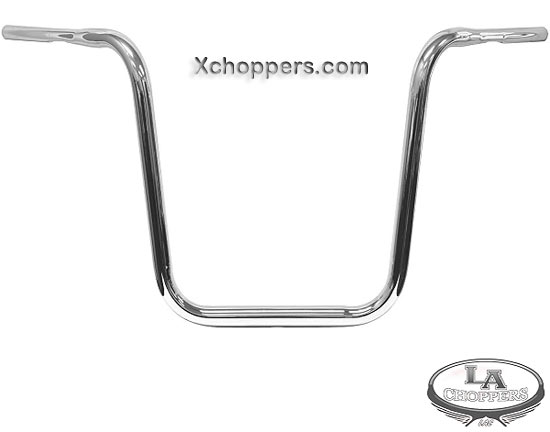 "LA Choppers HEFTY 1 1/4"" dia. 18"" Tall APE HANGER"