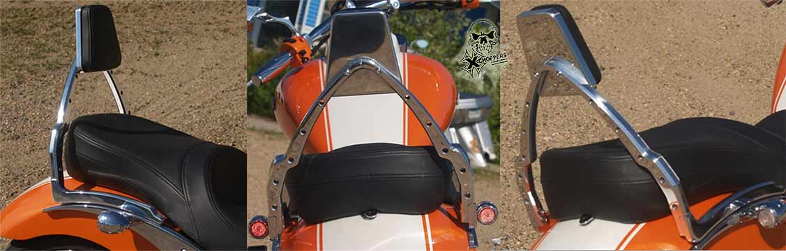 <B>Sumo-X backrest for M109 Sumo fender ONLY</B>