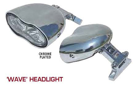 "ULTIMA - ""Wave"" Headlight"