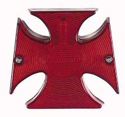 LED Tail Light - Maltese Cross