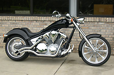 Morton - Honda Fury Infernos Exhaust System