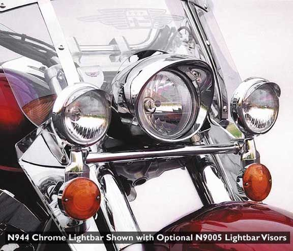 National Cycle Complete Lightbar - VTX 1300