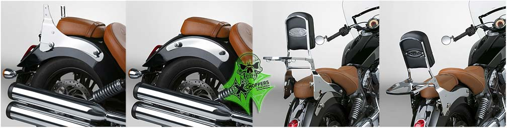 National Cycle Paladin® QuickSet™ Mount Kit for Indian Scout