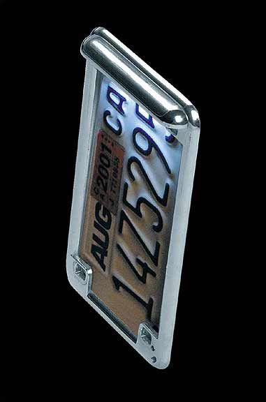 Radiantz Illuminatorz - Vertical LED License Plate Frame