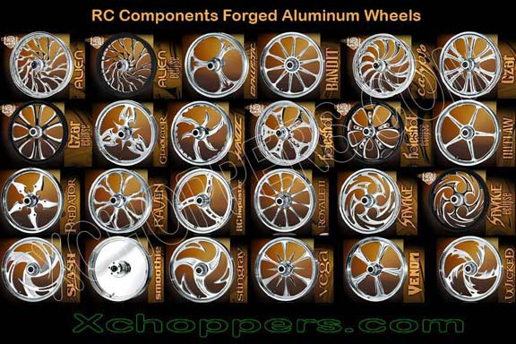 <B>RC Components & Sumo-X Forged Alum.  Custom Wheels (PR)</B>