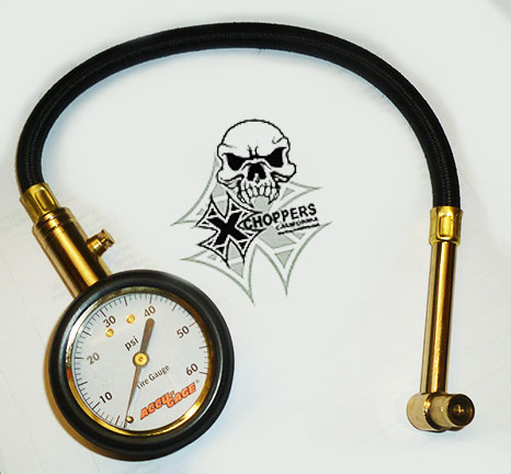 Accugage Dial Tire Gauge with Hose