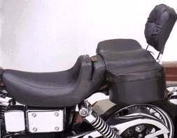 Saddlemen Comfy Saddle� - Adjustable Plain (Passenger seat)