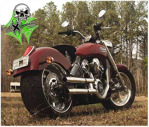 RC Components Indian Scout 240mm Wide Tire Kit