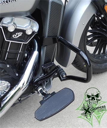 Aeromach 2015+ Indian Scout Freeway Bars - Black