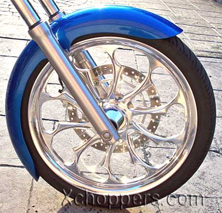 Sumo-X Longshot (wide) Front Fender for Honda Fury