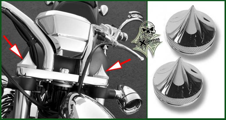 "Accutronix FURY & Sabre ""Tribal"" Fork Cap Covers"