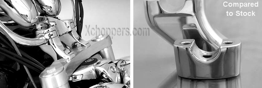 <B>Handlebar Risers Specifically Made For Triumph® Rocket III