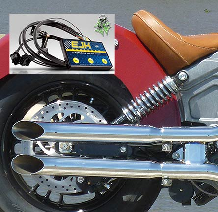 <B>Scout Combo - Turn Out Mufflers & Dobeck EJK - Sale Price!</B