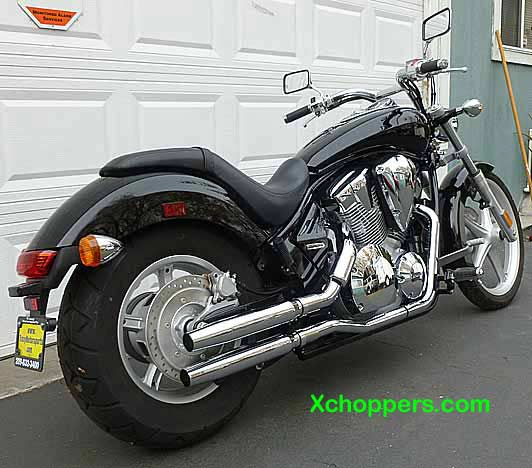 <B>Xchoppers VT1300 & Fury Slip-On Mufflers</B>