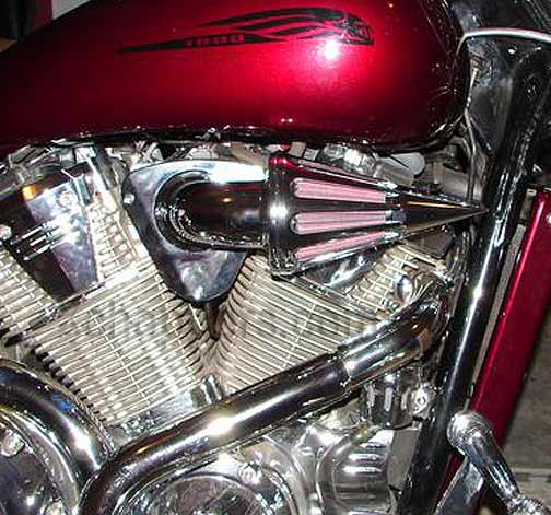 D&M Custom Cycles - Spear Air Cleaner - VTX 1800 (all)