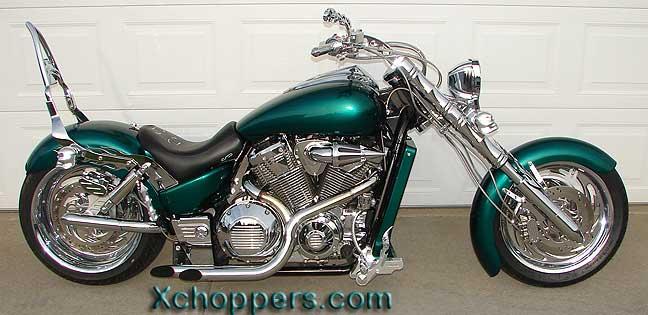 Wild West Honda >> Xchoppers.com - Morton XROID exhaust system - VTX 1800 (all)