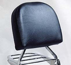 Custom World Intl. Backrest and Large Pad