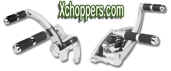 Accutronix Polished Forward Controls - VTX 1300 (all)