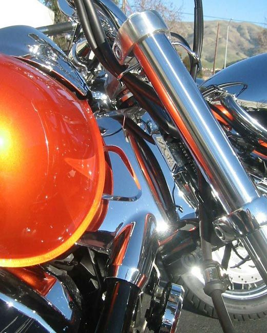 Big Bike Parts - Chrome Neck Trim (both Sides) - VTX 1300 (all)