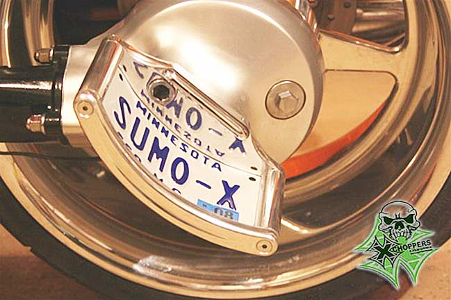 Sumo-X Suzuki Side Mount License Bracket